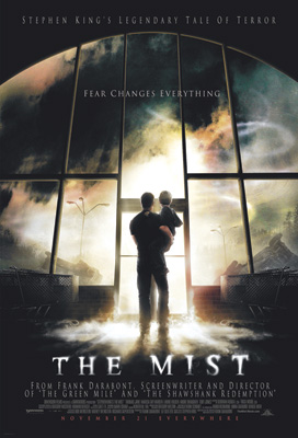 Poster of the movie adaption of Stephen King's THE MIST