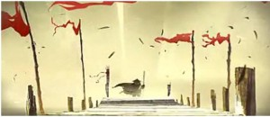An image of the dream sequence in Kung Fu Panda (Copyright Dreamworks)