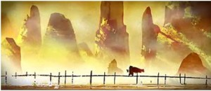 An image of the dream sequence of Kung Fu Panda (Copyright Dreamworks)An image of the dream sequence of Kung Fu Panda (Copyright Dreamworks)An image of the dream sequence of Kung Fu Panda (Copyright Dreamworks)