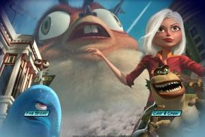 Monsters Vs. Aliens Website screenshot
