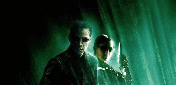 The Matrix as a Movie Poster