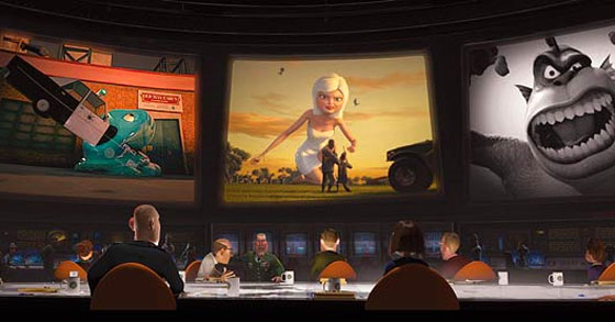 Just a little rant about Monsters vs. Aliens (Review)