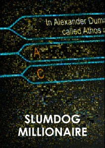 Slumdog Millionair Custom Movie Poster Art