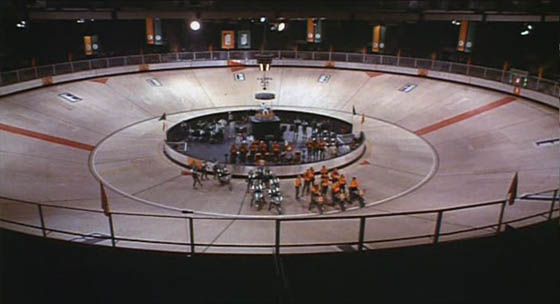 The Rollerball Arena in its full glory